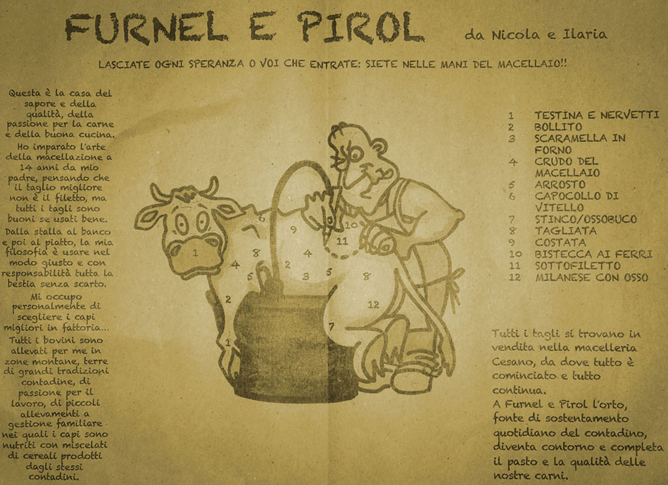 Menu Furnel e Pirol
